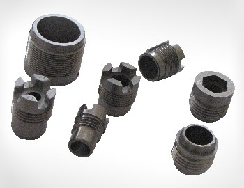 Tungsten carbide nozzle