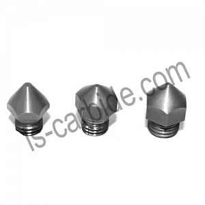 Cemented carbide 3D Printer nozzles