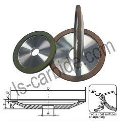 12 A2-20° Grinding dish wheel JR004 D1